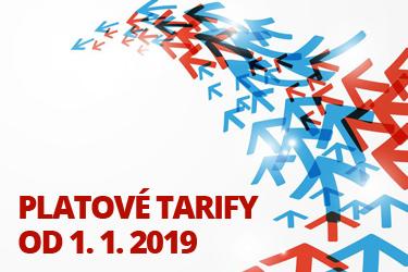 Platové tarify od 1. januára 2019 980a6f8a547